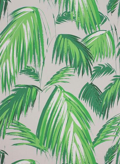 Tapete Palmen palmen tapeten tapete palmenblätter palmenmuster dschungel